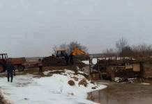 Невідомі 24 лютого розривали греблю на території заказника «Шиїнецький»